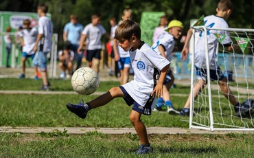 Открытие детской фан-зоны «Спортик»